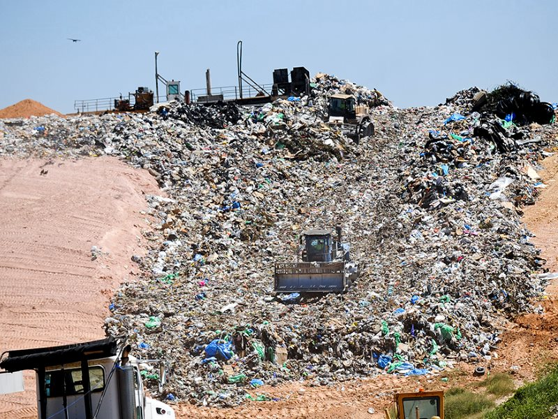The Stone's Throw Landfill, near Tallassee, AL. Photo: Jeronimo Nisa / Earthjustice.