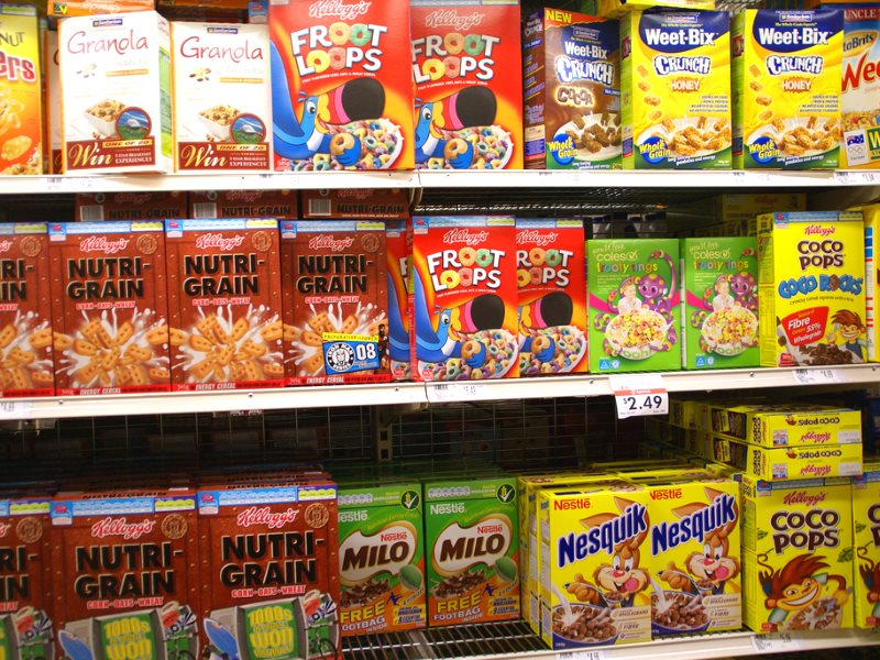 How much Roundup is in your breakfast cereal? We don't know, as USDA and EPA have created a bureaucratic logjam that means the 'probably carcinogenic' herbicide is not tested for. Photo: Trish via Flickr (CC BY-NC-SA).
