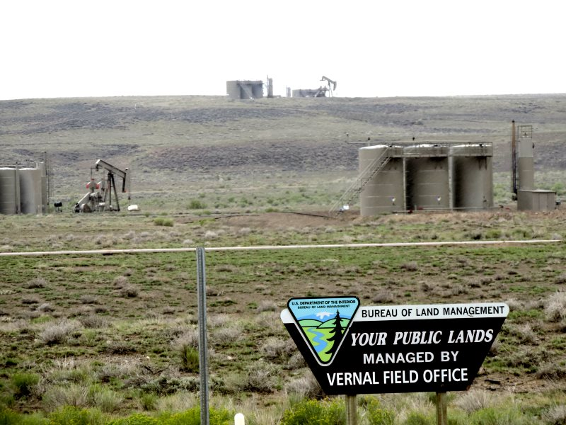 The Monument Butte project area is all public lands and minerals managed by the BLM. The BLM has already opened up wide swaths of the Uinta Basin for the oil and gas industry, effectively turning our public lands into an industrial zone. Photo: WildEarth