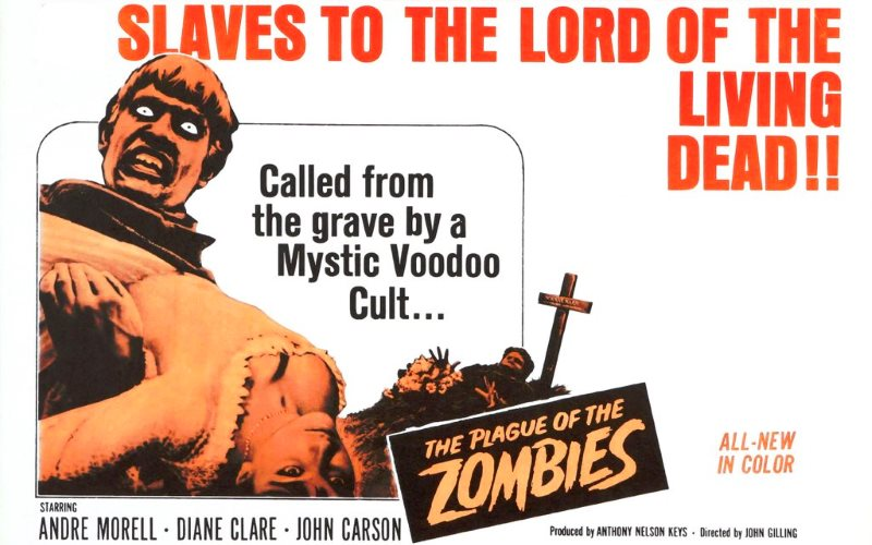 Poster for the film 'The Plague of the Zombies'. Photo: Huysamen Engelbrecht via Flickr (CC BY-SA).