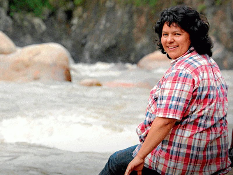 Berta Cáceres. Photo: Prachatai via Flickr (CC BY-NC-ND).