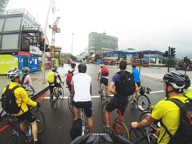 Soon there will be more cycles on London's roads than cars - is that something to be frightened of? Photo: Andreas Kambanis via Flickr (CC BY).
