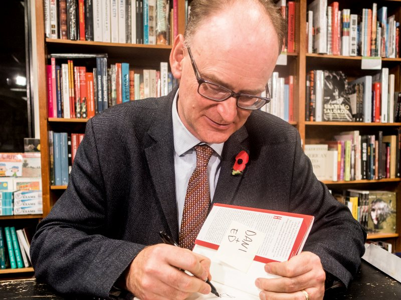 Viscount Matt Ridley at a book signing in Washington DC, 11th November 2016. Photo: ehpien via Flickr (CC BY-NC-ND).