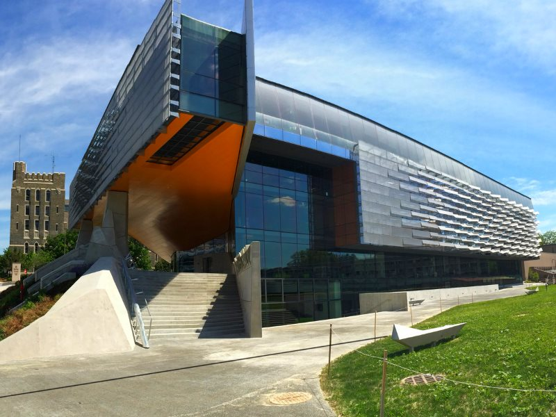 The Gates Foundation-funded 'Gates Hall' at Cornell University. Photo: Robert Gray / At-Hand Guides via Flickr (CC BY).