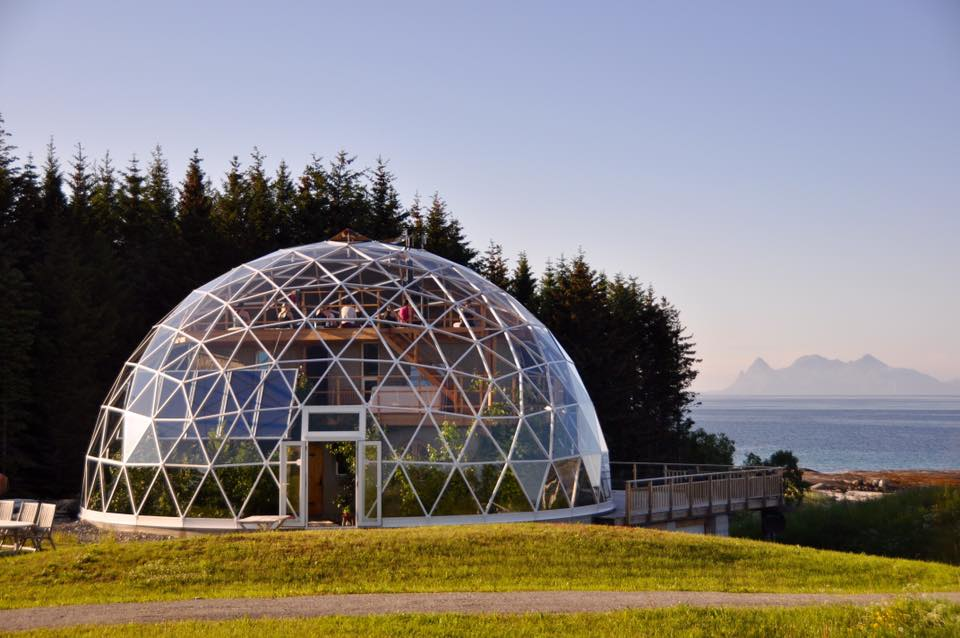 Could you live in a glass dome or box? The idea is catching on.