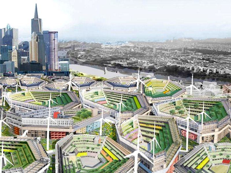 The future of cities? Image: Paul Jones / Northumbria, Author provided.