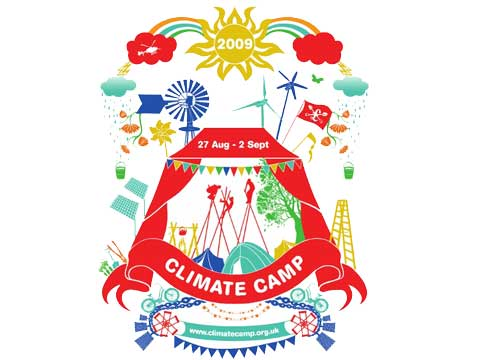 Climate Camp London is taking place on Blackheath in South-East London