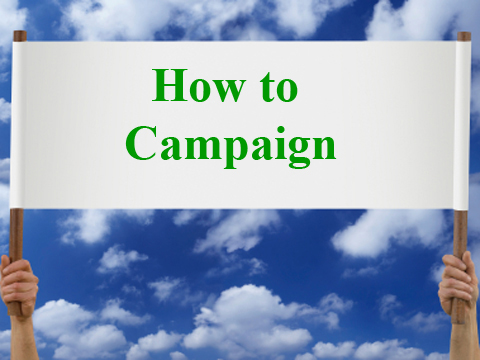 campaigning essay A campaign strategy is a proposed pathway to victory, driven by the understanding of who will vote for the candidate and why they will do so joel bradshaw, a.