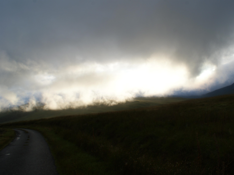 The one road of Jura.