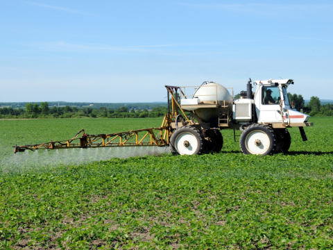 Spraying pesticides - somewhere near you? Photo: Meg Wallace Photography / Shutterstock.