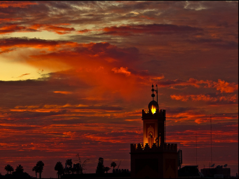 The sky over Marrakech. Photo: Elvin via Flickr.com.