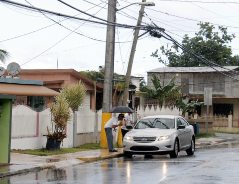 Another rainy day in Dorado, Puerto Rico. Photo: La Shawn Pagán.