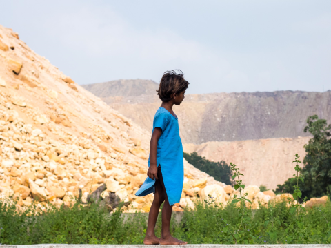 Manbasia's daughter, Jharia. Photo: Sarah Stirk.