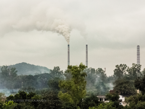 Anpara Thermal Power plant. Photo: Sarah Stirk.