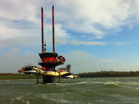Siemens MCT Seagen tidal turbine. Photo: DECC via Flickr.com.