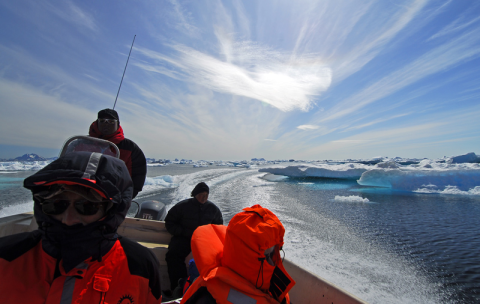 The adventure of a lifetime to see some of Greenland's famed icebergs and glaciers from a seal hunter's boat. For 11 hours we braved freezing winds (but sunny skies) and saw what must surely be some of the most beautiful, rugged and spectacular scener
