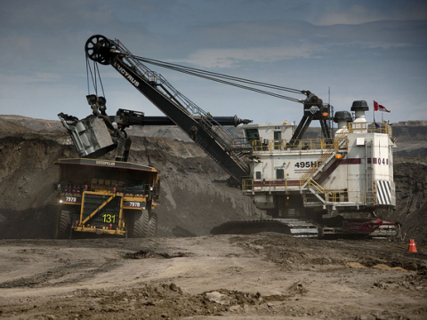 Tar sands digger, Athabasca. Photo: Shell via Flickr.com.