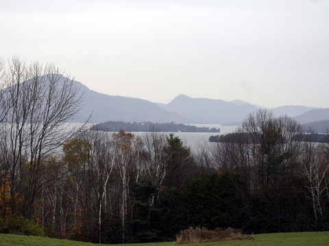 Lake Memphremagog, Vermont, imperilled by tar sands crude in the Montreal-Portland pipeline.