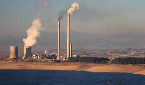 Where the coal is burnt - the Compostilla II power station. Photo: Filon Verde.