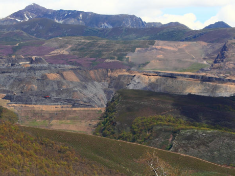 Fonfria coal mine in the Laciana Valley. Photo: Filon Verde.