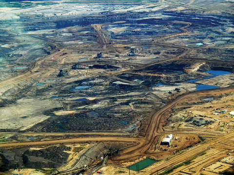 Tar sands, Alberta. Photo Dru Oja Jay, Dominion / Owl Arts Collective via Flickr.com.