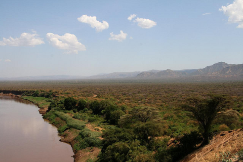 Ethiopia's Omo River in 2008. Photo: Marc Veraart via Flickr.com.