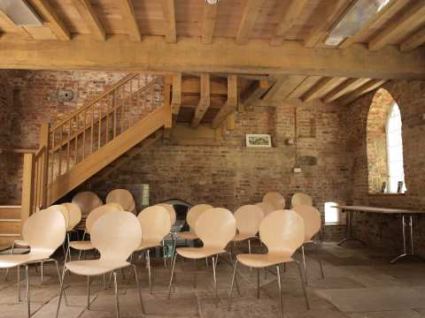 Howsham Mill within - a gorgeous space for events, meetings, lectures,parties ...