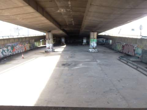Under Westway. Photo: Marco Picardi.