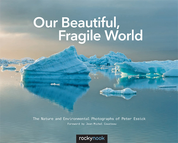 'Our beautiful, fragile world' - front cover.