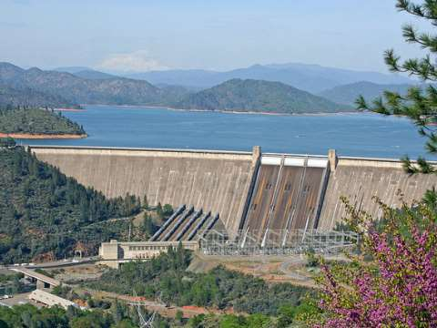 The Shasta Dam, California. Many more of these to come? Photo: Bruce Fingerhood via Flickr.