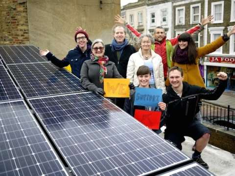 Hackney Energy Group. Photo: Repowering London.