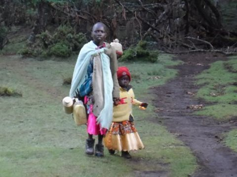 Sengwer refugees from the Embobut Forest. Photo: Dean Puckett.