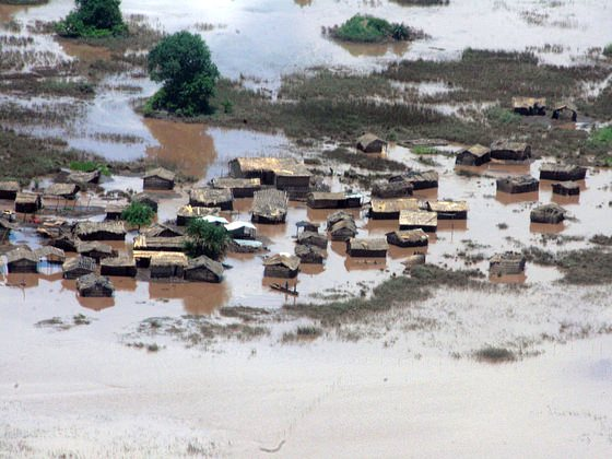 Flooding in Malawi, January 2015. Photo: George Ntonya / UNDP via Flickr (CC BY-NC-ND).