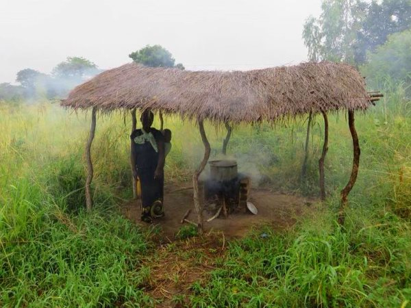 A cooking hut in rural Malawi. Photo: Marc Crouch / NAV.