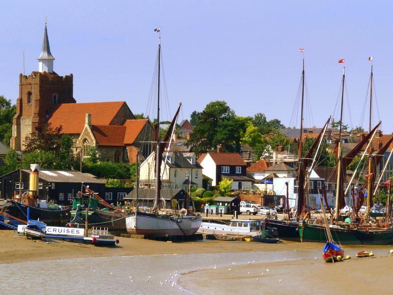 Maldon, Essex is a charming and historic town that lies at the head of the Blackwater estuary. Sadly its residents have more than double the usual breast cancer risk thanks to emissions from Bradwell nuclear power Station. Photo: Jason Ballard via Flickr