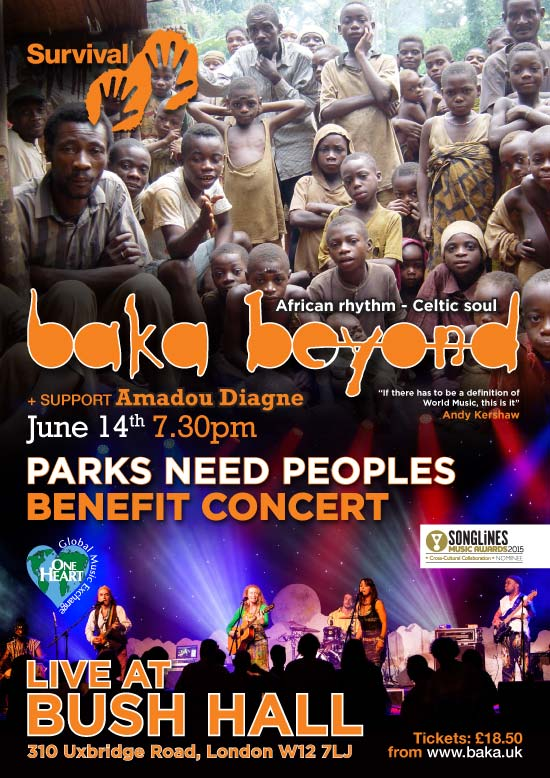 Flyer for the concert taking place this Sunday 14th June. Image: Baka Beyond.
