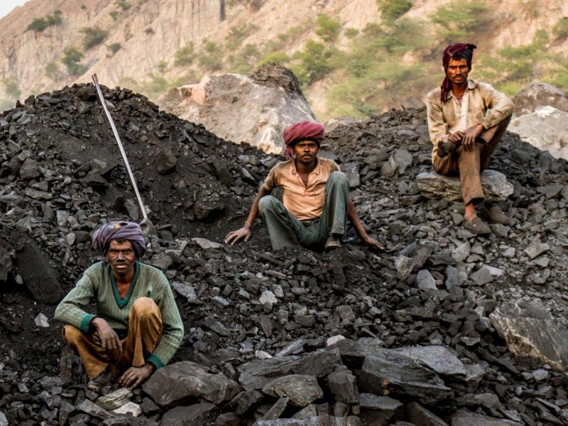 Coal miners in Singrauli, India. Photo: Joe Athialy.