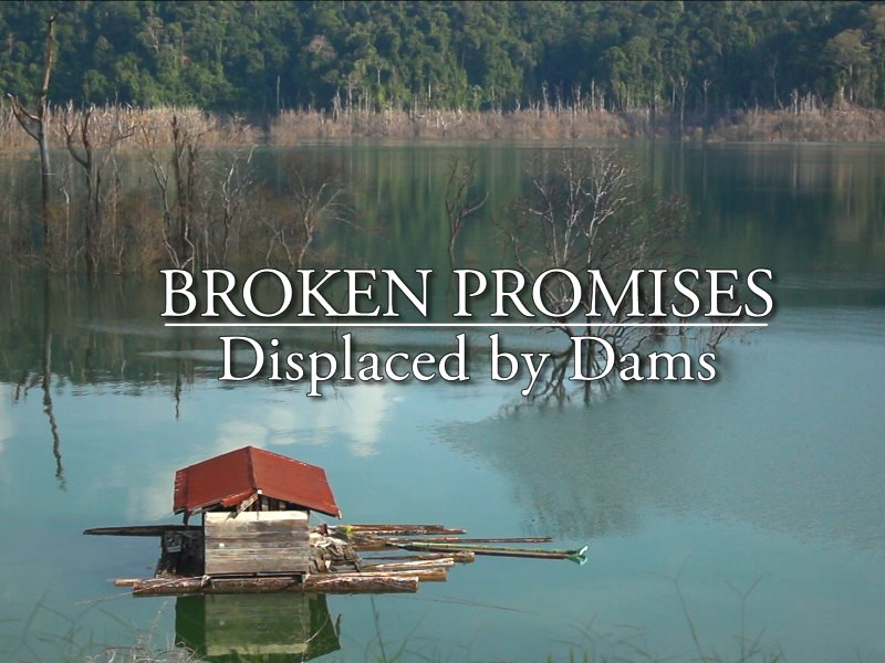 Broken Promises title page. Photo: Borneo Project.