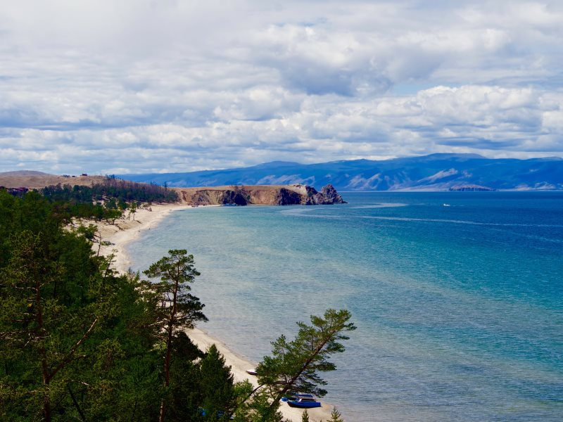 View of Lake Baikal. Photo: Lucy E J Woods.
