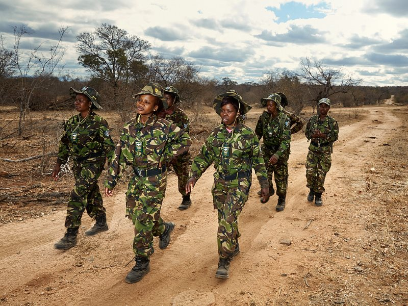 Black Mambas on Patrol. Photo: Julia Gunther.