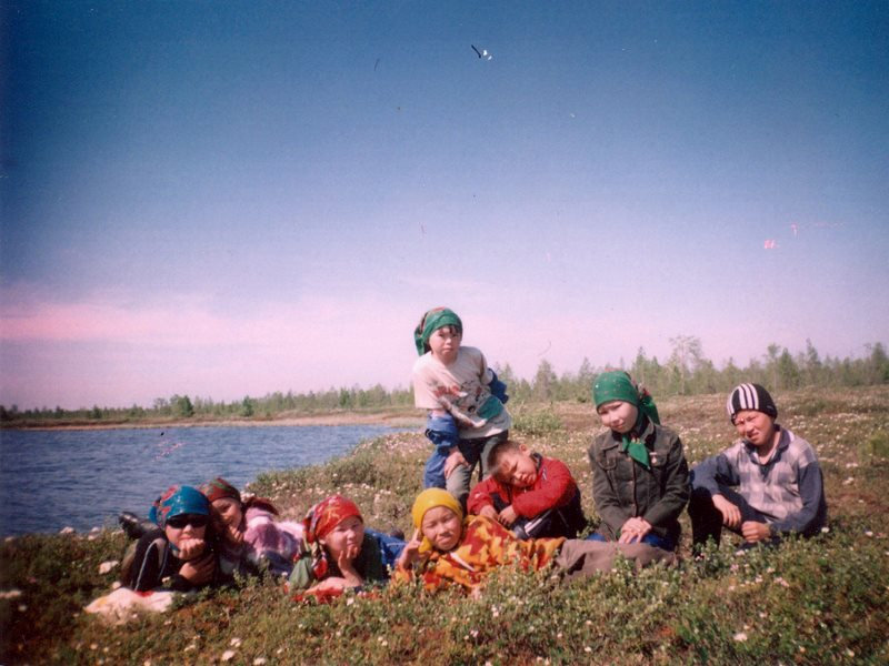 Khanty children in the Numto Nature Preserve in 2006. Photo: Irina Kazanskaya via Flickr (CC BY).