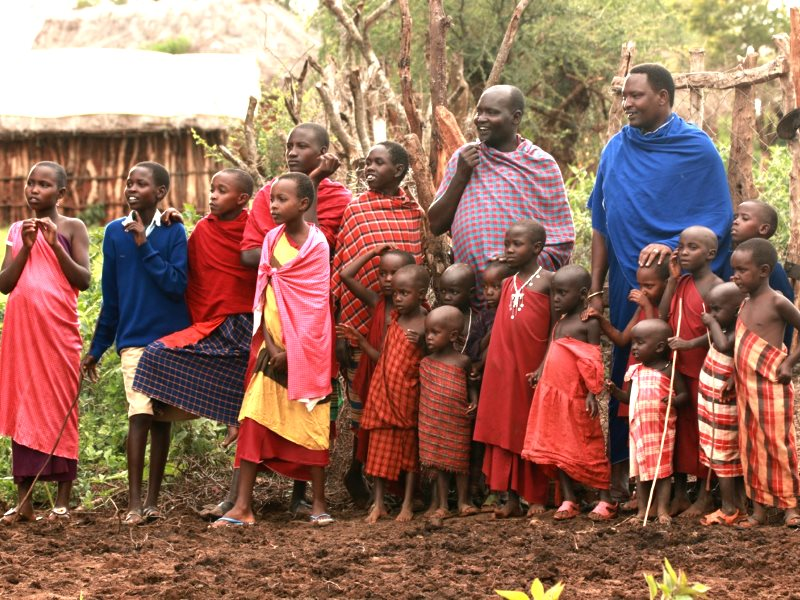 Loure and the UCRT team found an opportunity in one particular aspect of Maasai governance: its strong communal culture. Photo: Goldman Environmental Prize.