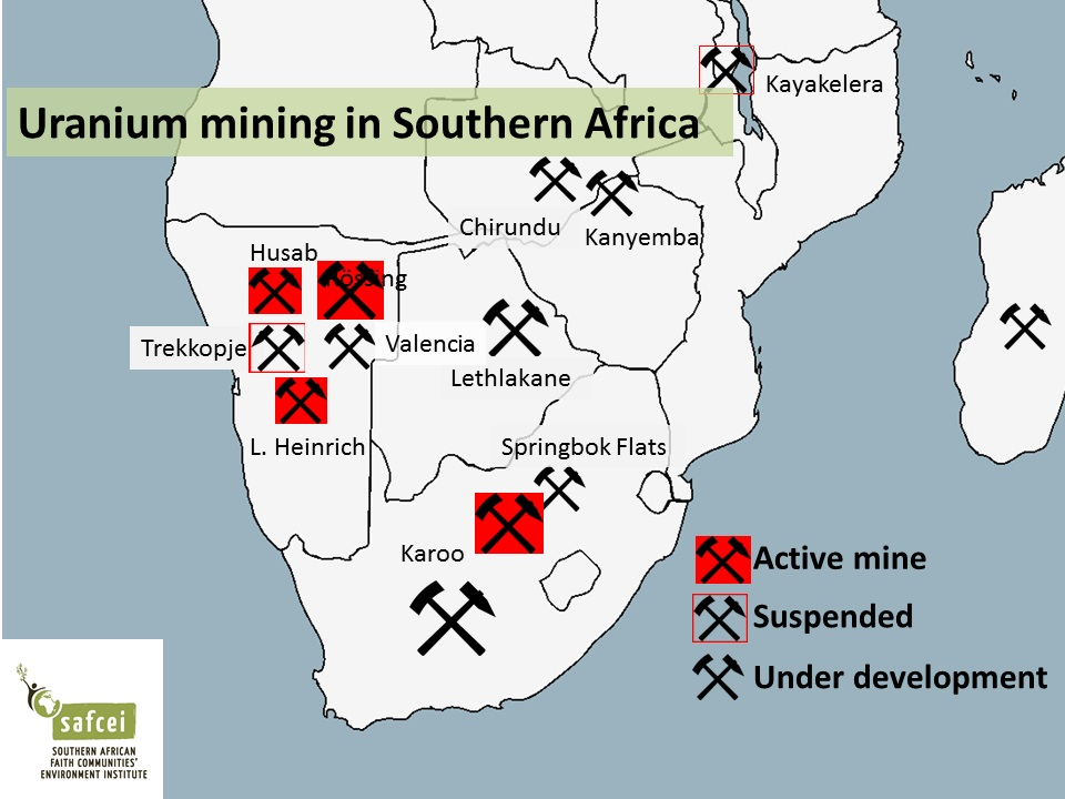 Namibia is quickly becoming the global number three in uranium mining with Chinese investments