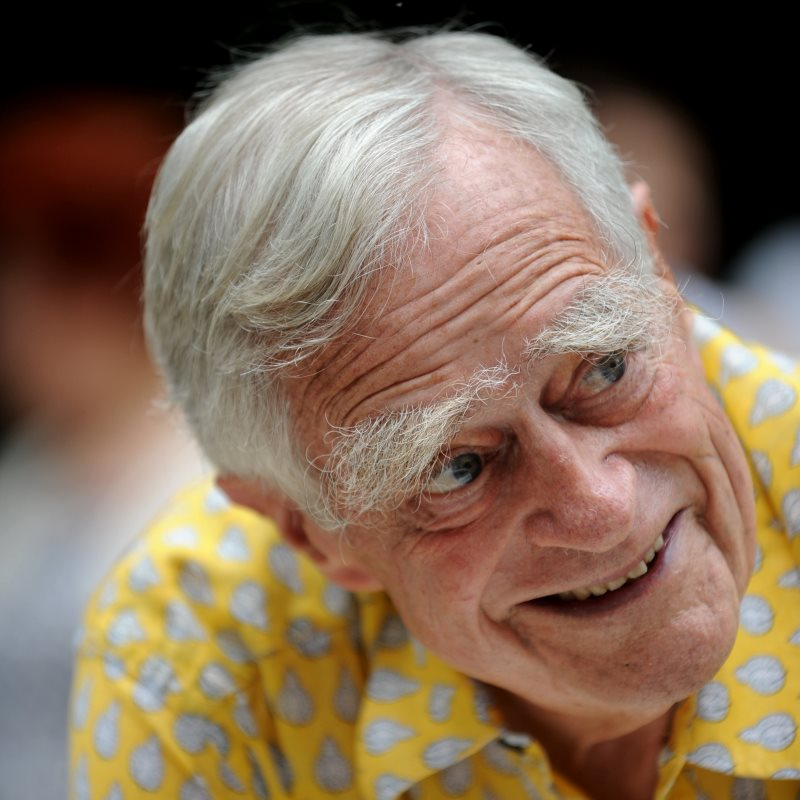 Luc Hoffman at 85. Photo: H.Hote / Agence Cameleon / Tour du Valat.