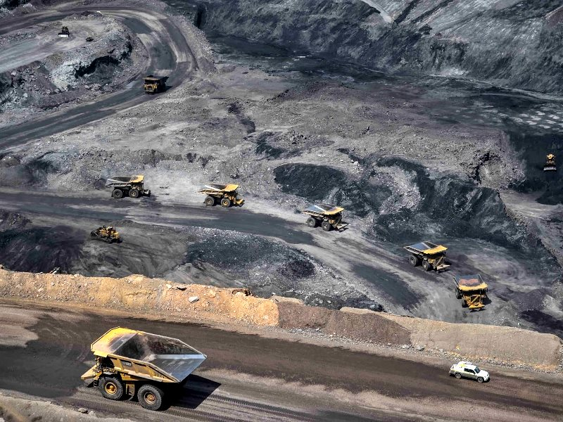 The Cerrejón coal mine, owned by BHP Billiton. Photo: Bianca Bauer.