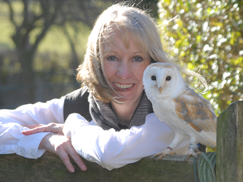 Pollyanna with a barn owl