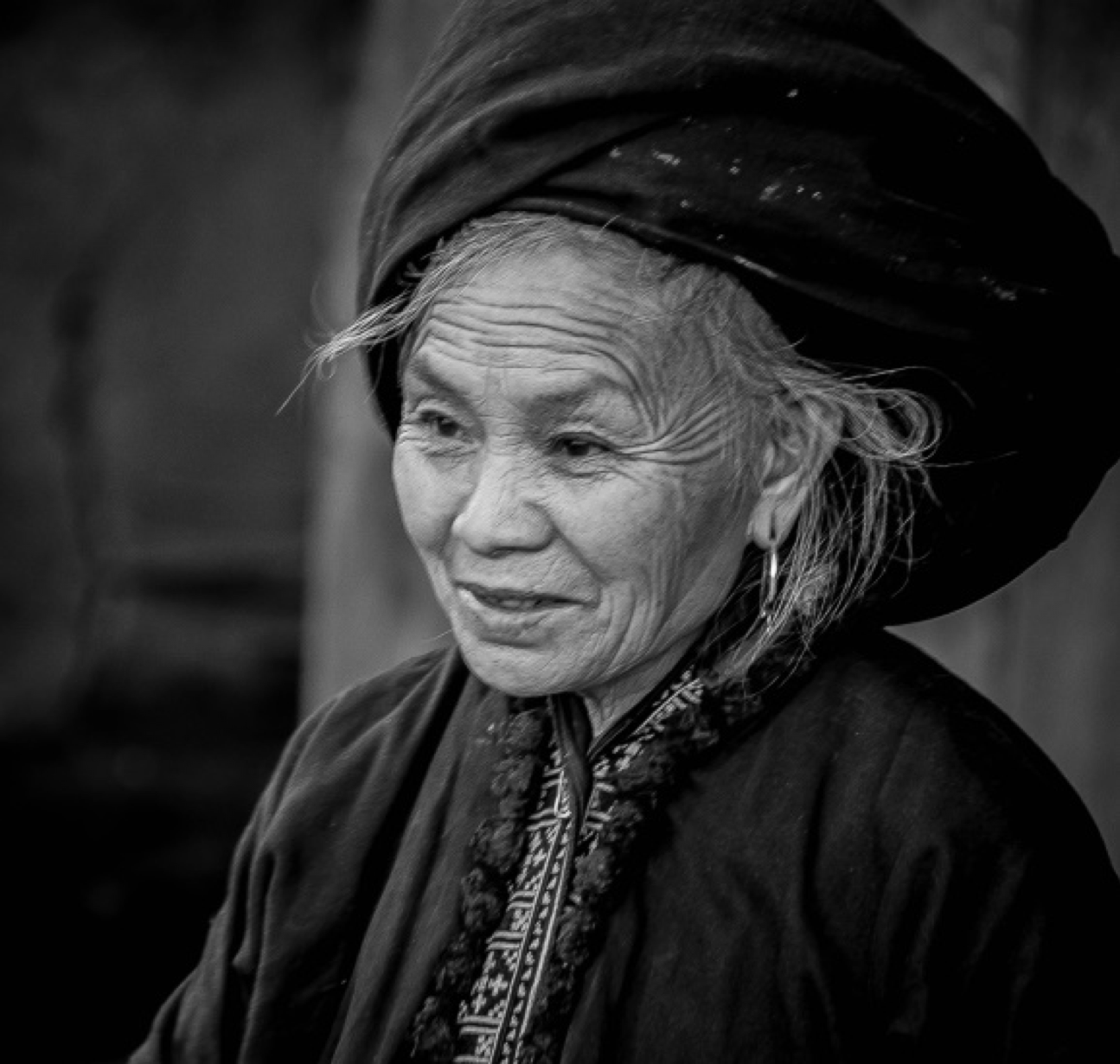 Black H'mong Elder