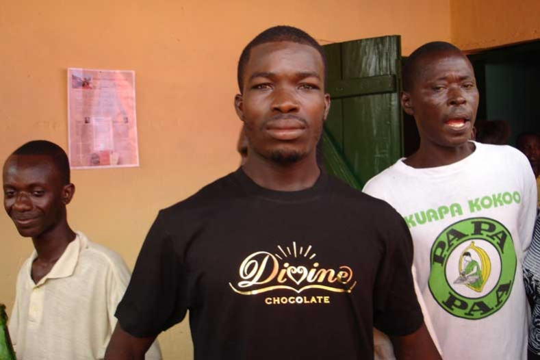 Divine cocoa growers