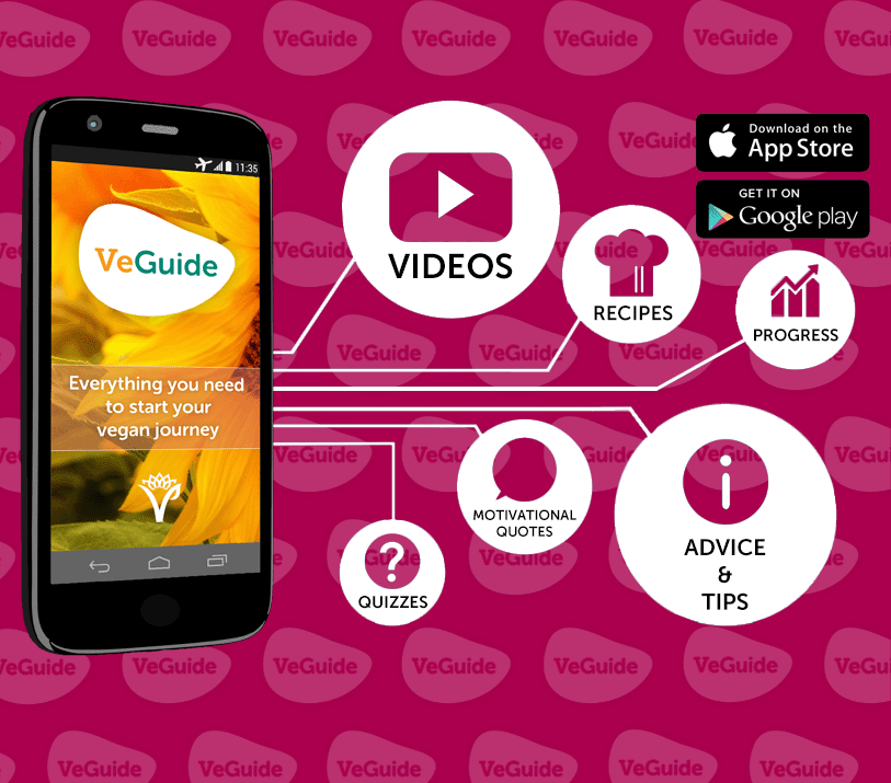 The new VeGuide app is free to download