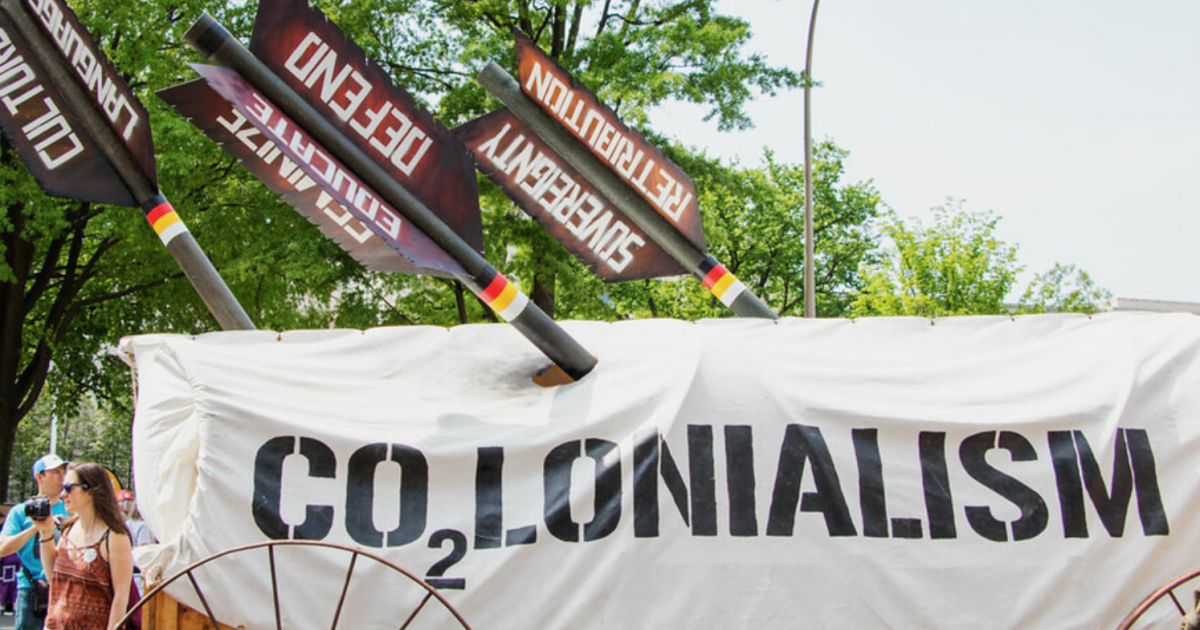 From degrowth to decolonisation